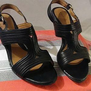 Attention Heeled Sandal 7 Black